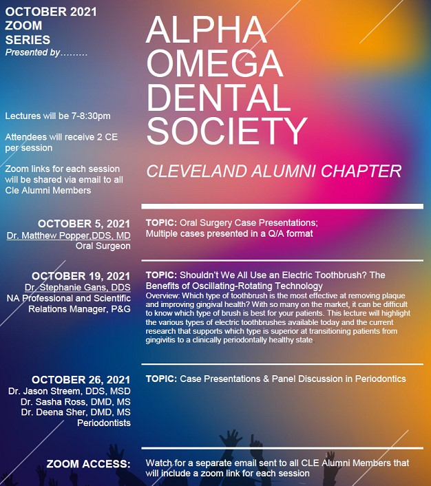 AO Cleveland October 2021 Events